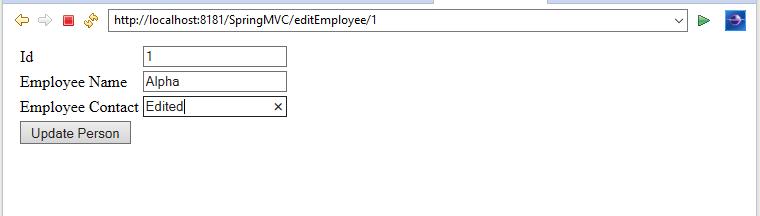 Spring MVC Hibernate MySQL CRUD Operation - Java Infinite